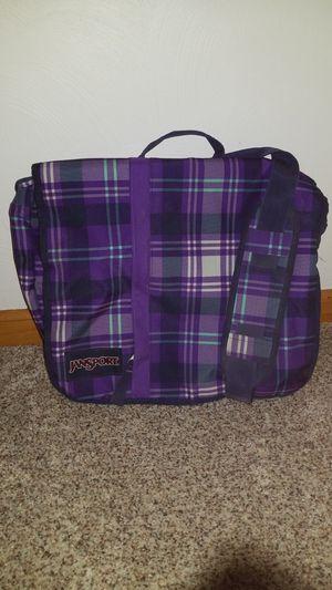 Purple Jansport Messenger Bag for Sale in Greensburg, PA