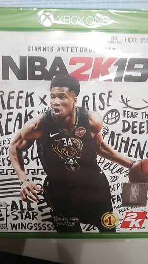NBA 2K19 XBOX ONE for Sale in Sammamish, WA