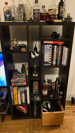 Black Bookshelves for Sale in Queens, NY