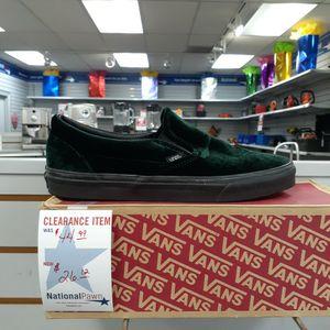 Men's Green Suede VAN'S for Sale in Durham, NC