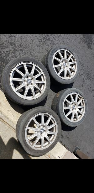 5x100 sti bbs wheels for Sale in Beaverton, OR