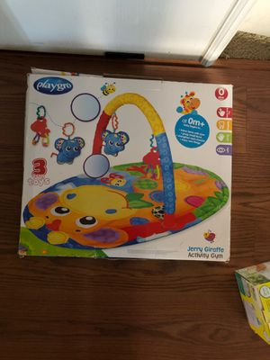 Playgro activity gym for baby 0+ months for Sale in Cedar Hill, TX