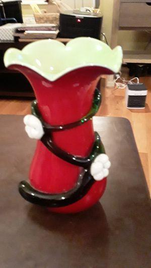 Red vase for Sale in Atlanta, GA