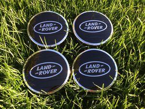 (4) Land Rover Range Rover Black Center Caps LR3 LR4 Wheel Rim Cap HSE Sport for Sale in Scottsdale, AZ