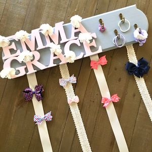 Custom made bow holder for girls and cheerleaders for Sale in San Diego, CA