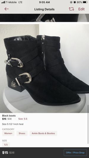 2 inch Boots for Sale in Fresno, CA