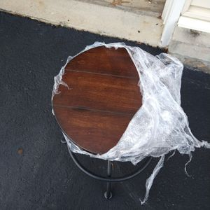 Wooden and Iron Stool for Sale in Fort Washington, MD