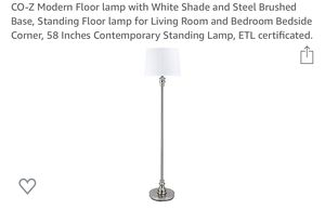 Floor Lamp ••brand new •••in box for Sale in Redlands, CA