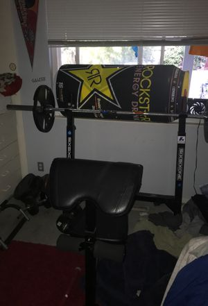 Weight bench and weights for Sale in Concord, CA