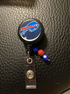Buffalo bills badge reel for Sale in Boynton Beach, FL