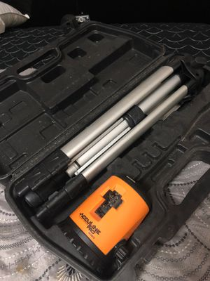 Acculine pro laser level for Sale in Calumet City, IL
