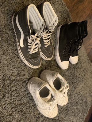 Vans chucks and sz 8 for Sale in Seattle, WA