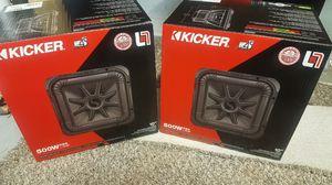 """NEW!!! Kicker 10"""" L7R Subwoofer for Sale in Phoenix, AZ"""