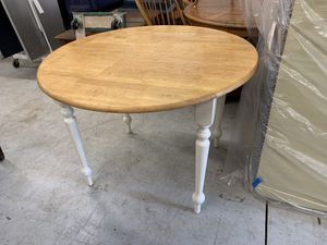 Small White Drop Leaf Kitchen Table for Sale in Lake Helen, FL