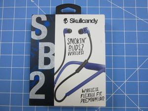 Skullcandy Smokin Buds 2 Wireless Bluetooth In-Ear Earbuds Headphones for Sale in Sarasota, FL