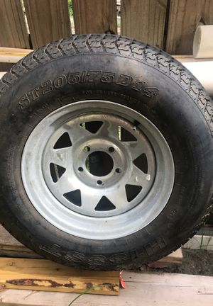Trailer tire 205/75/14 for Sale in Miami, FL