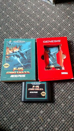 Used, F - 15 Strike Eagle 2 (For Sega Genesis) for Sale for sale  Queens, NY