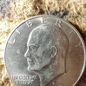 Totally Original And Unique 1 Of A Kind A 1972 Eisenhower Silver Dollar for Sale in Placerville, CA