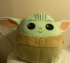 Baby Yoda Mandalorian Squishmallow for Sale in Long Beach,  CA