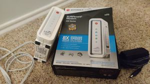 Arris Modem up to 343MBPS for Sale in Lubbock, TX
