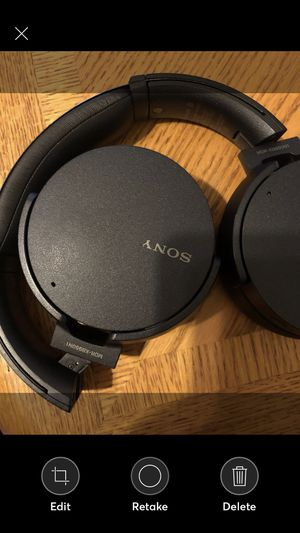 Sony MDR XB950N1 Headphones Industry leading digital noise cancelling technology. Connectivity Technology: Wireless Bluetooth 4.1 Feel the power of for Sale in Jamul, CA