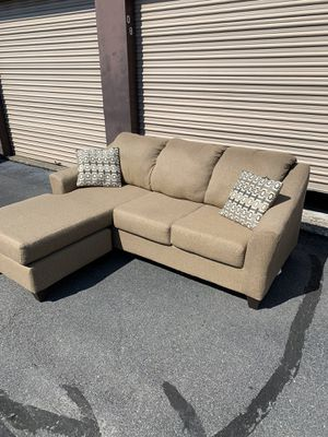 Reversible Chaise Sectional - Local Delivery Available for Sale in Virginia Beach, VA