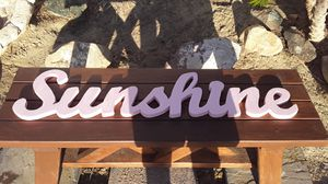 Hand cut Name Signs for Sale in Pumpkin Center, CA