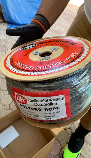 CWC 3-Strand PolyPro Rope for Sale in Miami, FL