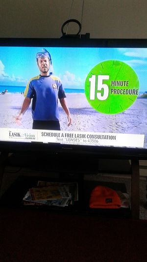 40inch Panasonic HD TV best offer or trade for phone or laptop for Sale in Columbus, OH
