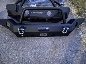 Jeep Wrangler Jk Front Bumper for Sale in Riverside, CA