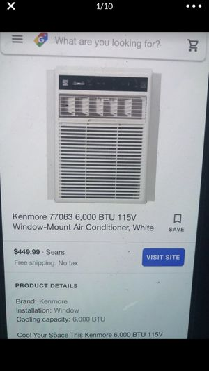 Kenmore AC 6000 BTU for Sale in Hillsboro, OR