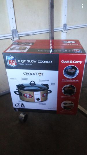 49ers Crock Pot for Sale in Fresno, CA