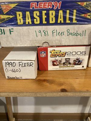 Fleer Baseball 1981 box set one box for Sale in Philadelphia, PA