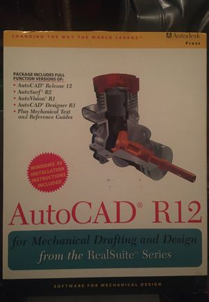 AutoCad R12 (never used) Great for Beginners or Med Advanced for Sale in Clayton, CA
