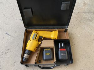 Dewalt 9.6v cordless drill w/ metal case for Sale in Schaumburg, IL