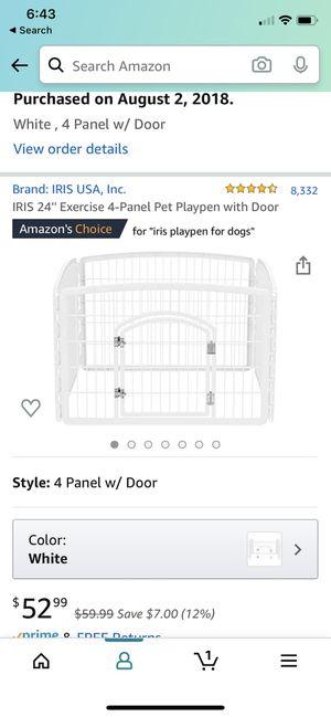 Puppy Playpen - great condition for Sale in La Grange Park, IL