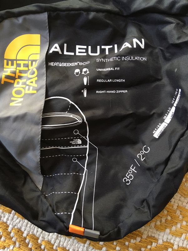 Northface sleeping bag