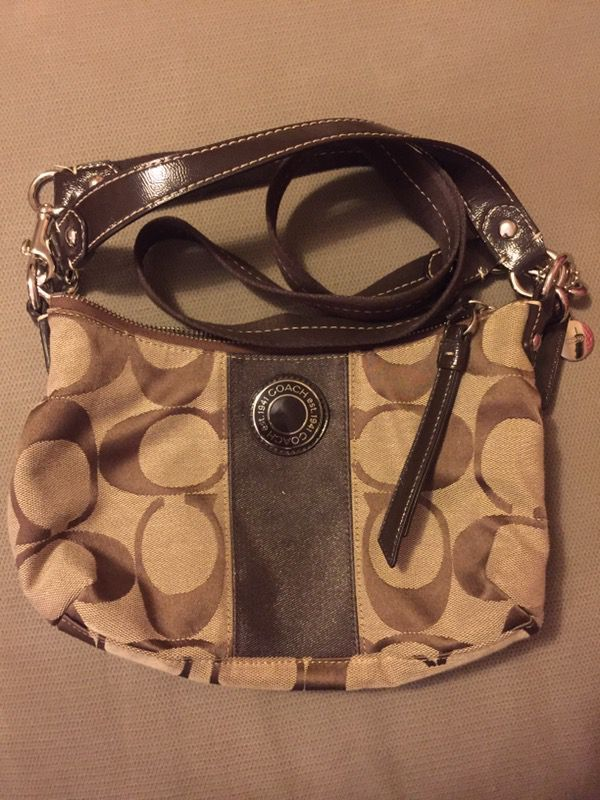 Never used! Brown Coach Purse
