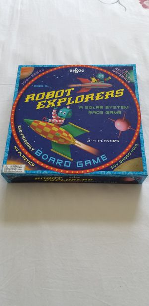 EEBOO ROBOT EXPLORERS BOARD GAME for Sale in Boynton Beach, FL
