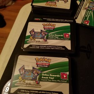 Pokemon Code Cards for Sale in New Haven, CT