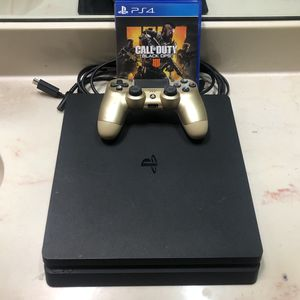 Playstation 4 1TB Perfect Condition W/ Black Ops 4 & Controller for Sale in Arlington, TX