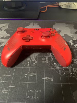 Sport red controller Xbox one wireless for Sale in Brooklyn, NY