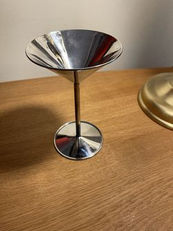 Stainless Steel Martini Glasses - Set of 6 for Sale in Chicago,  IL