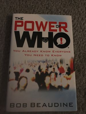 The Power of Who - Bob Beaudine for Sale in Gainesville, FL