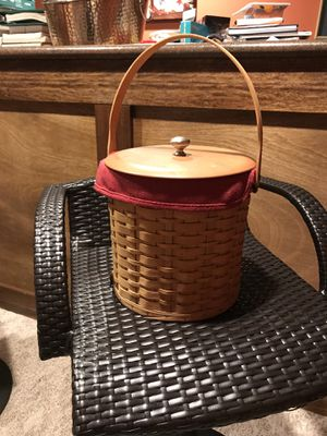 Longaberger Ice Bucket for Sale in Dublin, OH