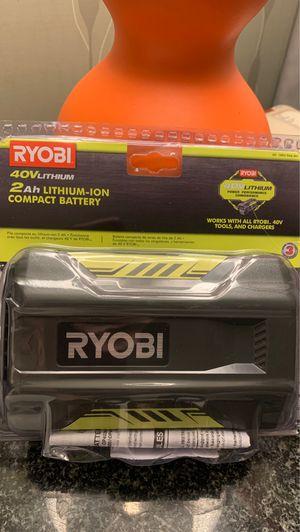 Ryobi 40vLITHIUM 2.0AH for Sale in Litchfield Park, AZ