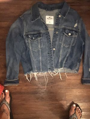 Hollister XL Jean jacket for Sale in Grosse Pointe Shores, MI