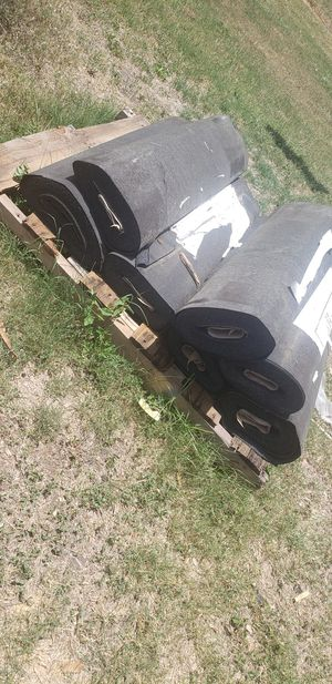 Roll roofing 7 rolls $80 for Sale in Victoria, TX