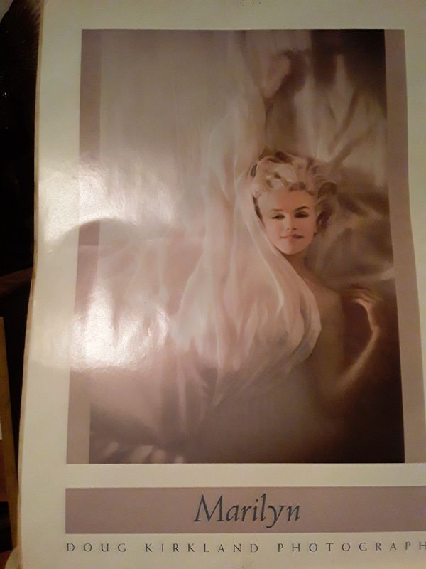 Classic Marilyn monroe photo posters