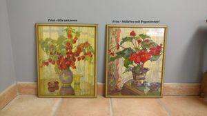 """Flower Prints Anna Gasteiger Framed 21"""" for Sale in Allendale, NJ"""